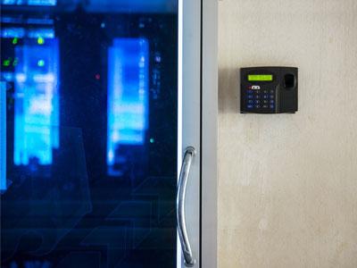 BURNS business security keypad