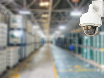 BURNS business warehouse security camera