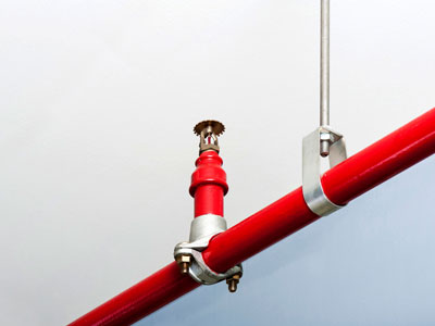 BURNS fire sprinkler